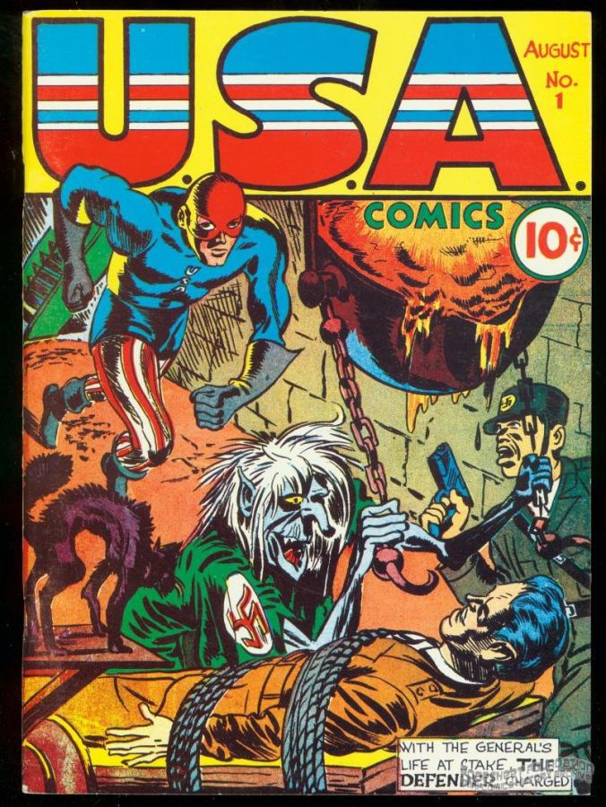 Flashback #03: USA Comics #1