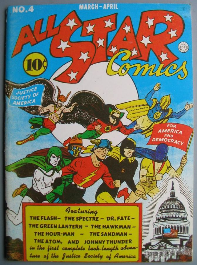 Flashback #06: All Star Comics #4