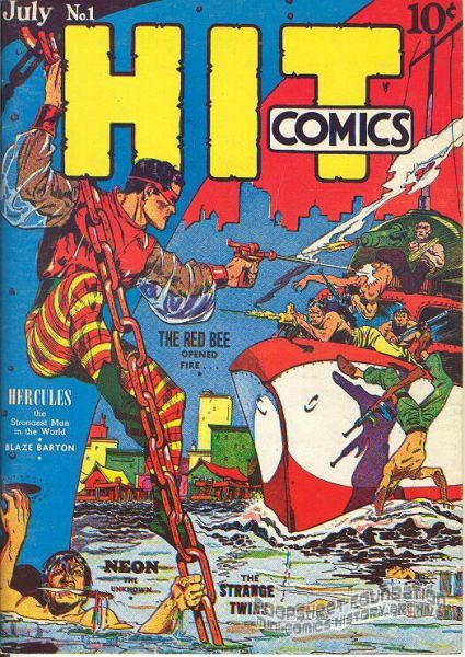 Flashback #31: Hit Comics #1