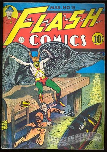 Flashback #36: Flash Comics #15
