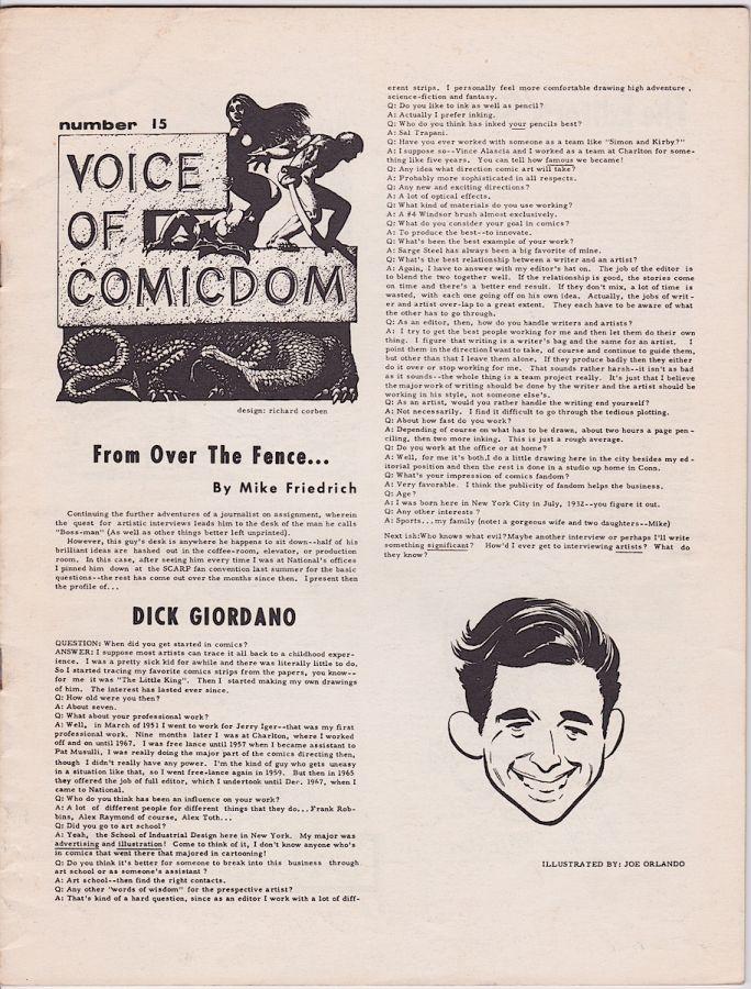 Voice of Comicdom #15