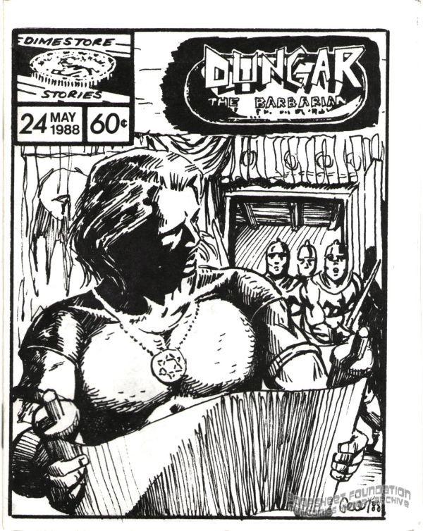 Dungar the Barbarian #24