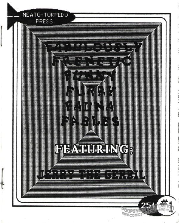 Fabulously Frenetic Funny Furry Fauna Fables #1