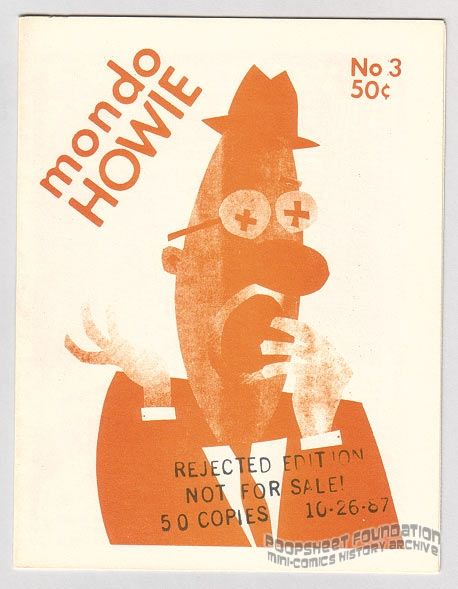 Mondo Howie #3 Rejected Edition