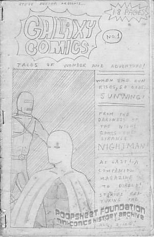Galaxy Comics #1 [unpublished?]
