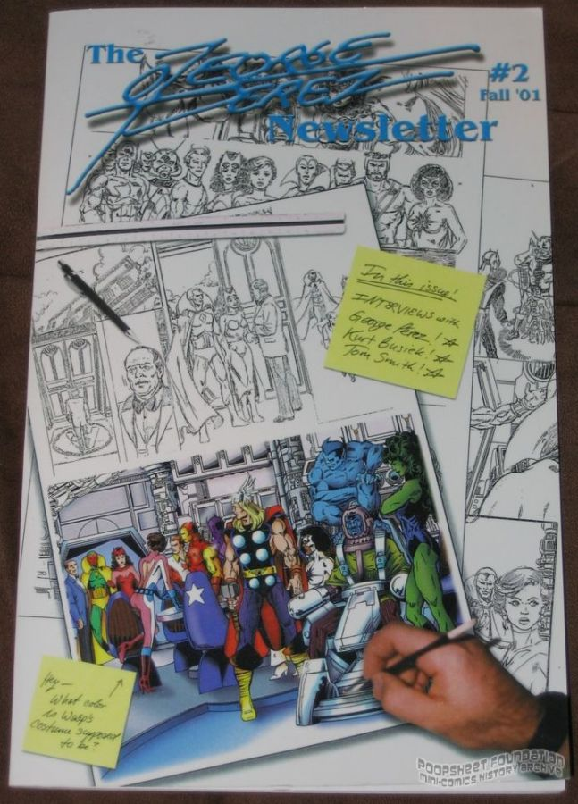 George Perez Newsletter, The #2
