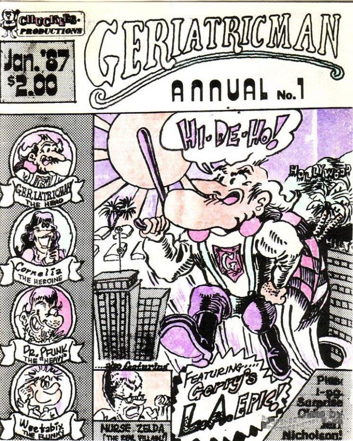 Geriatricman Annual #1