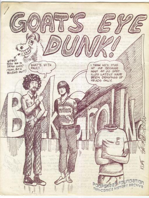 Goat's Eye Dunk!