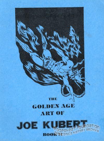 Golden Age Art of Joe Kubert, The Book II