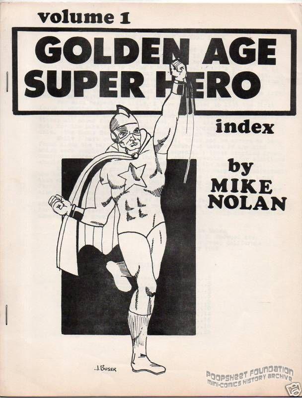 Golden Age Super Hero Index Vol. 1