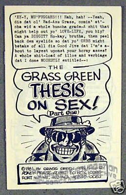 Grass Green's Thesis on Sex Part 1