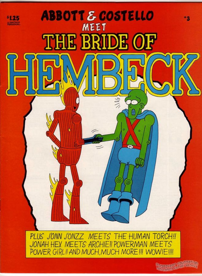 Hembeck #3: Abbott & Costello Meet the Bride of Hembeck