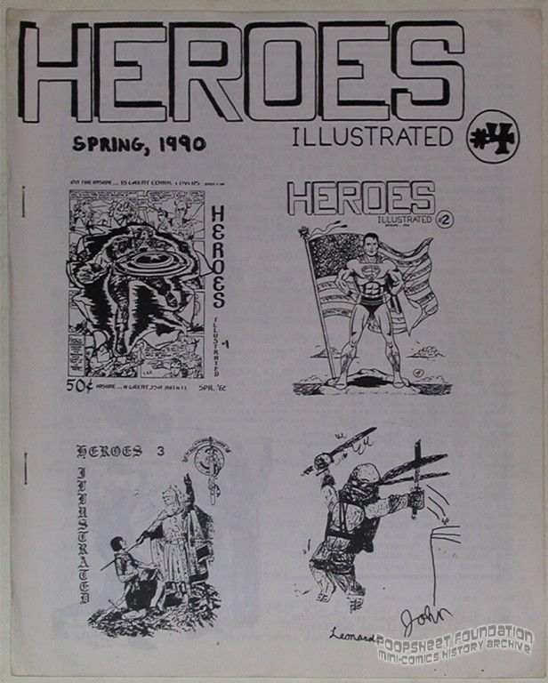 Heroes Illustrated #4