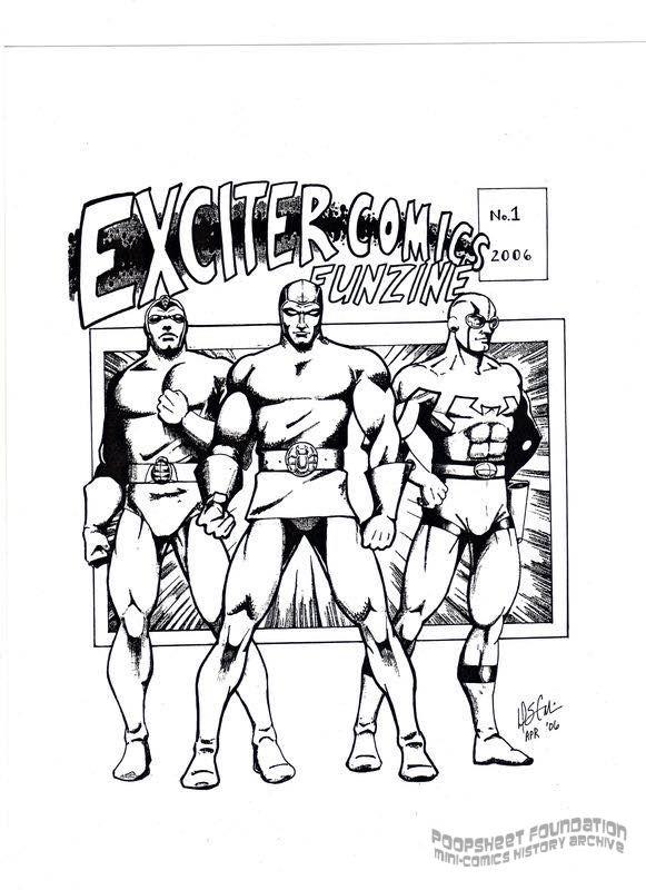 Exciter Comics Funzine #1