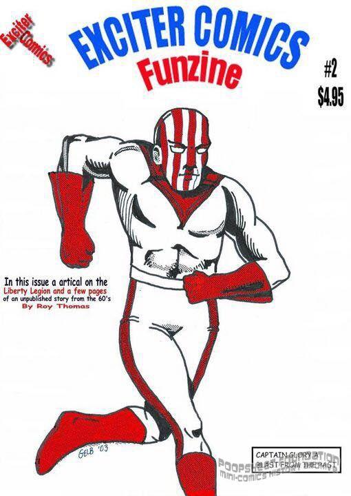 Exciter Comics Funzine #2
