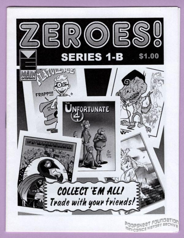 Zeroes! #1-B