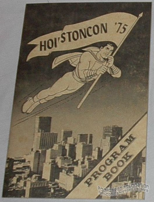 Houston Con 1975 program