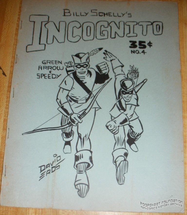 Incognito [Bill Schelly] #4