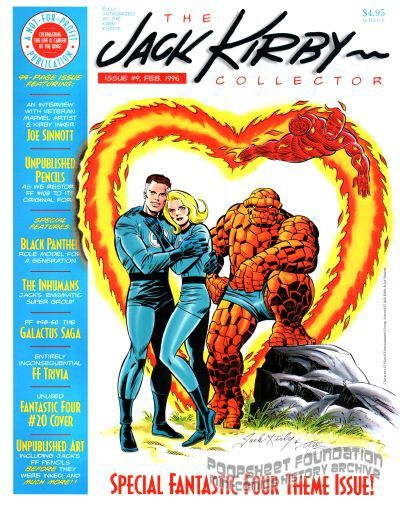 Jack Kirby Collector, The #09