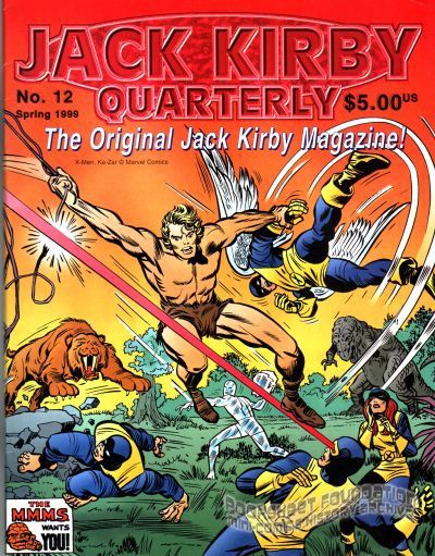 Jack Kirby Quarterly #12