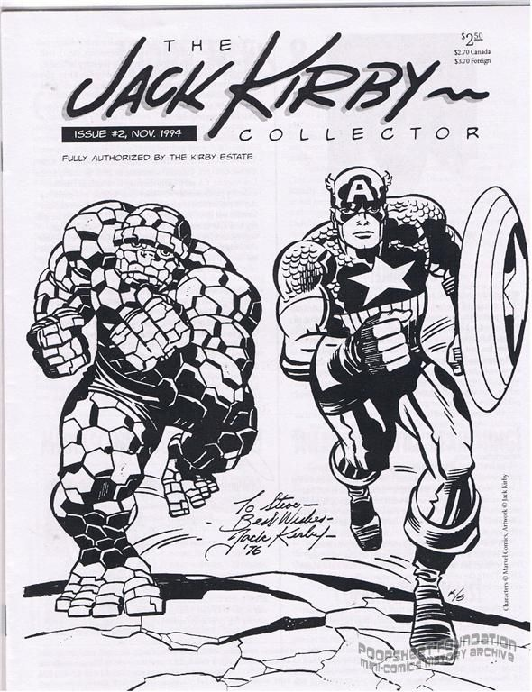 Jack Kirby Collector, The #02
