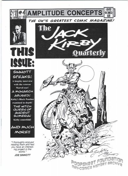 Jack Kirby Quarterly #04