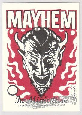 Mayhem in Miniature stickers