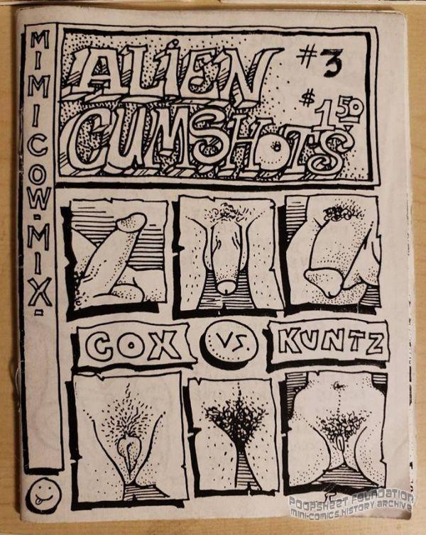 Alien Cumshots #3 1st printing proofs