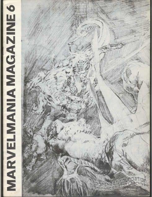 Marvelmania Magazine #6