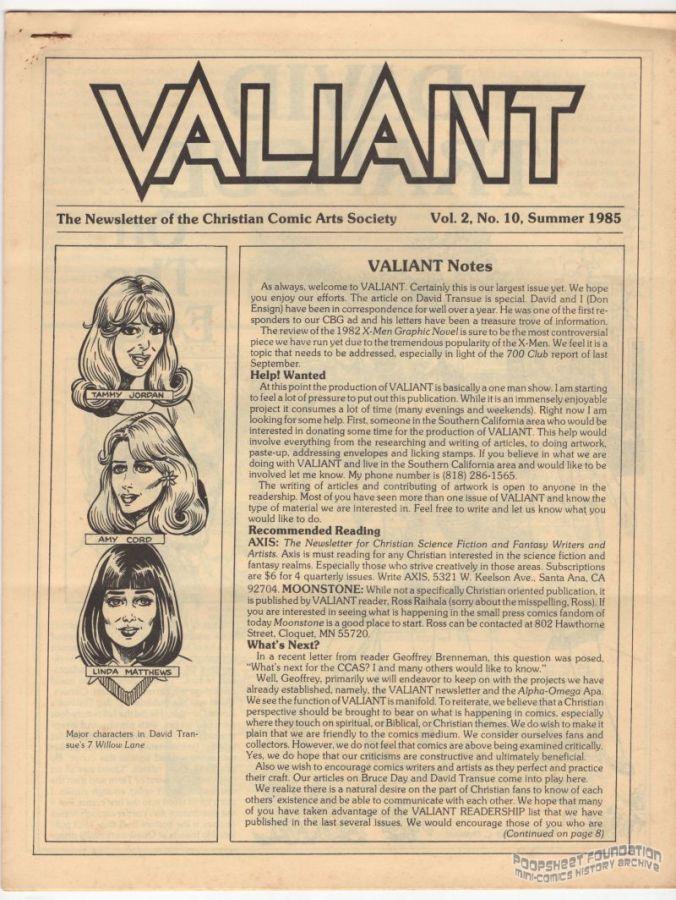 Valiant Vol. 2, #10