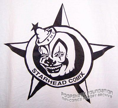 Starhead Comix t-shirt (Triangle Slash)