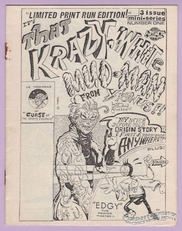 That Krazy, White Mud-Man from Y'Ranus #1
