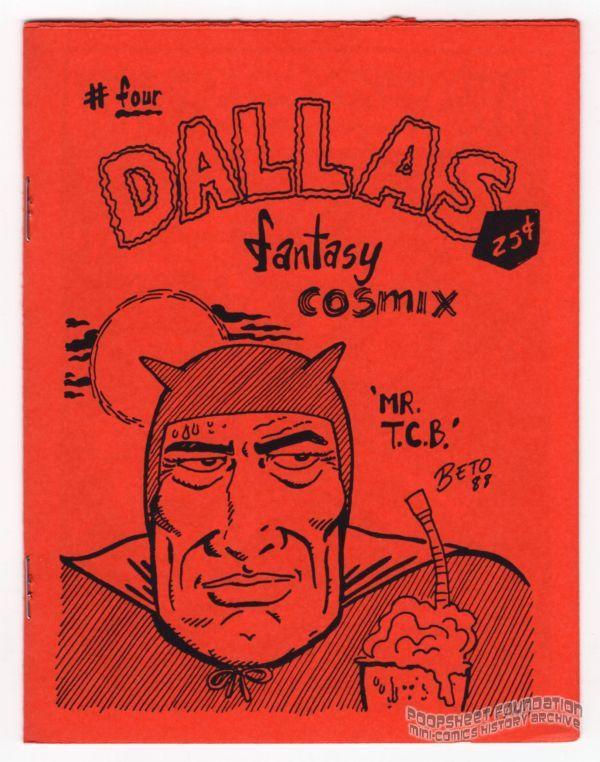 Dallas Fantasy Comics #4