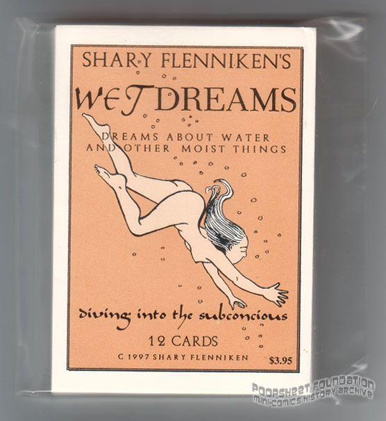 Wet Dreams trading card set