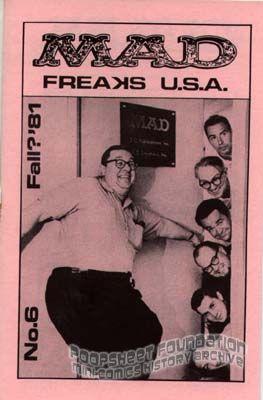 MAD Freaks USA #6