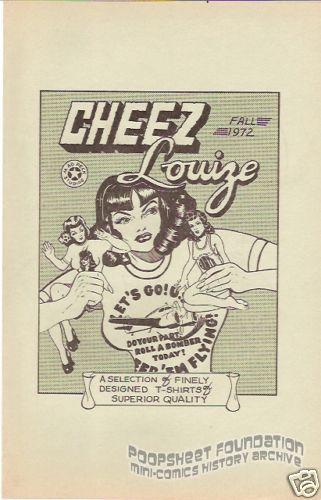 Cheez Louize catalog (Fall 1972)