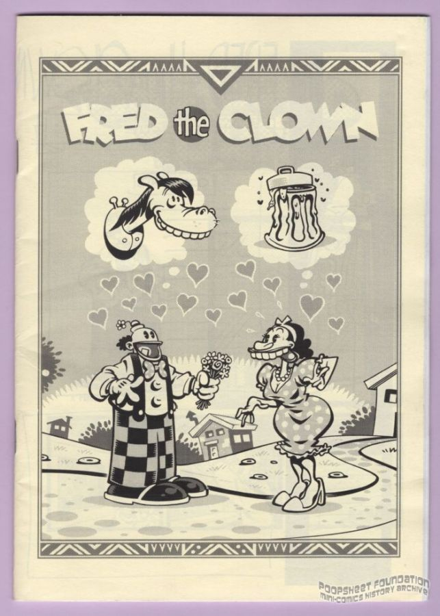 Fred the Clown ashcan