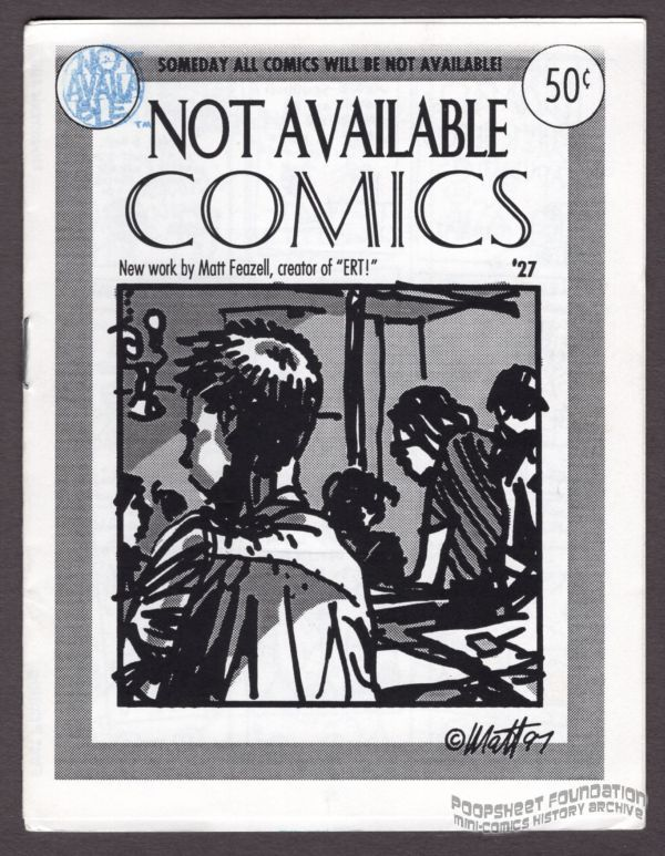 Not Available Comics #27