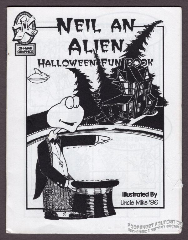 Neil An Alien Halloween Fun Book
