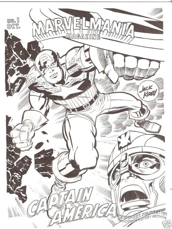 Marvelmania Magazine #1 test issue