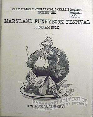 Maryland Funnybook Festival Program Book