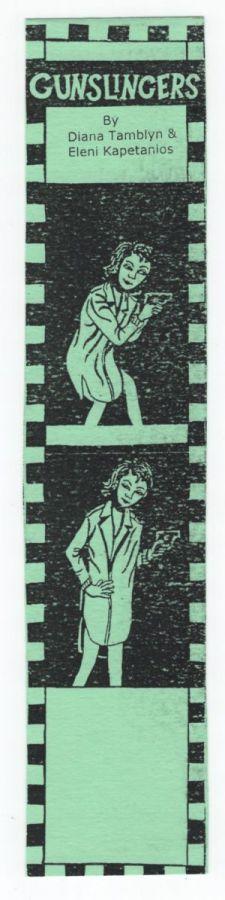 Gunslingers bookmark