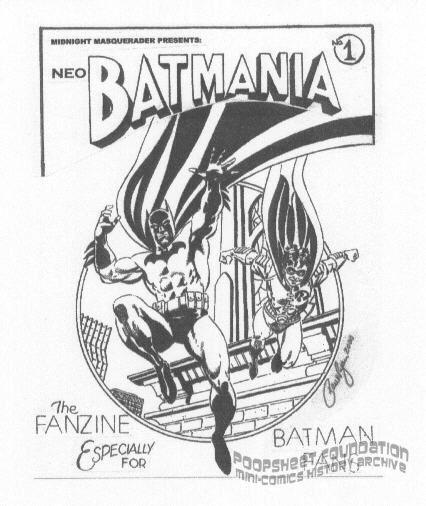 Midnite Masquerader Presents #1: NeoBatmania