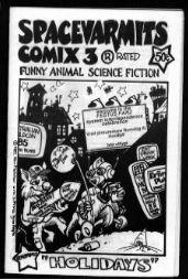 Spacevarmits Comix #3