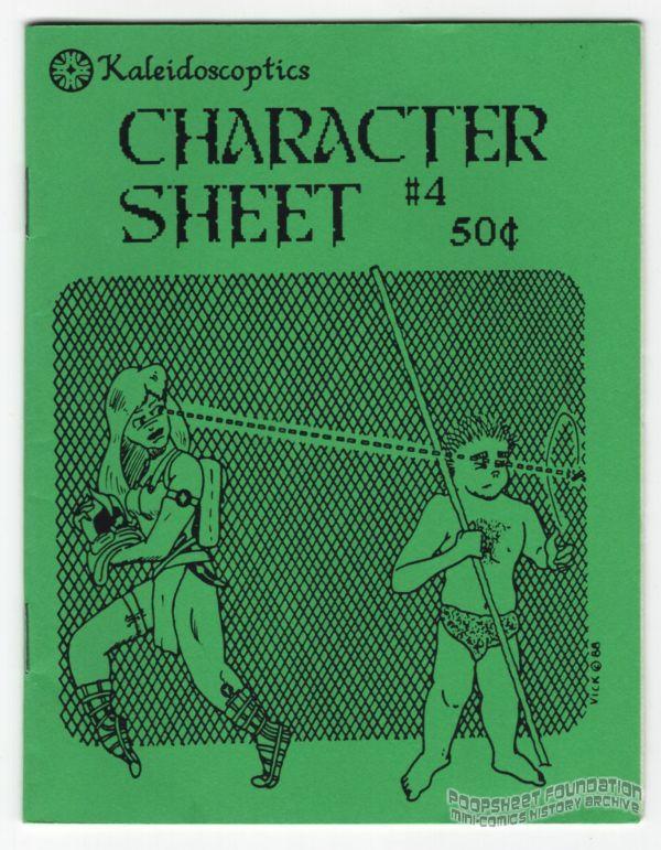 Character Sheet #4
