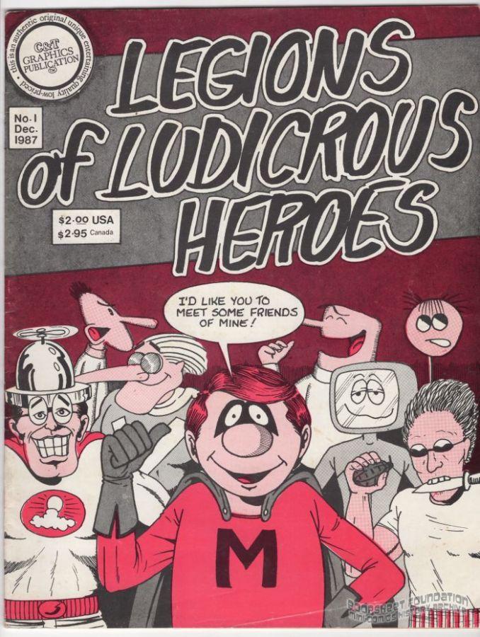 Legions of Ludicrous Heroes #1
