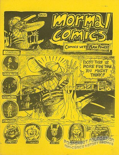 Mormal Comix #1