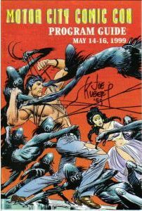 Motor City Comic Con Program Guide May 14-16, 1999