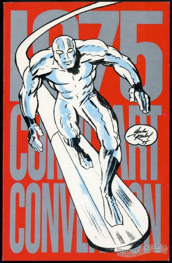 1975 Comic Art Convention program book