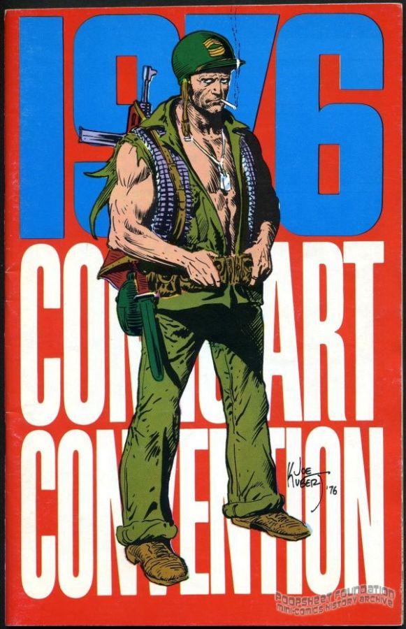 1976 Comic Art Convention program book
